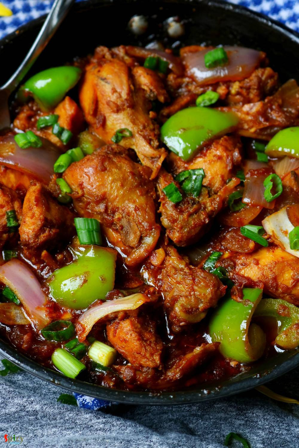 Bhuna Chilli Chicken - Spicy World Simple and Easy Recipes ...