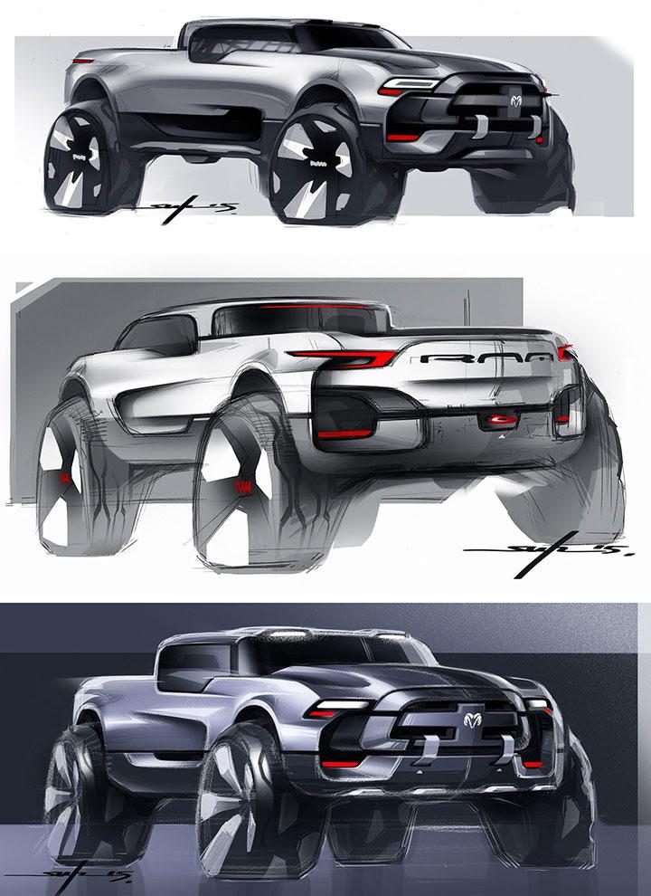 2020 Ram Concept Truck | 2017 - 2018 Best Cars Reviews