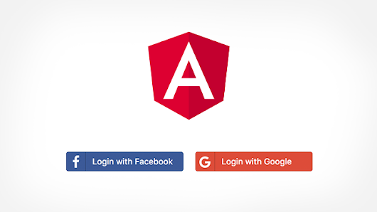 Social Login using Angular and RESTful APIs