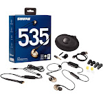 Shure SE535-V+BT1 Bronze SE535 Cinematic Sound Isolating Earphones with Microphone & Bluetooth Wireless
