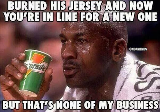 Twitter / SCNotTopTen: Michael Jordan's thoughts on ...