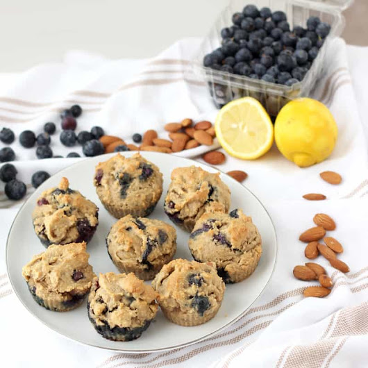 Blueberry Almond Muffins
