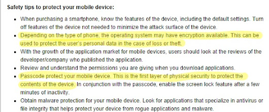 FBI Claims It Has No Record Of Why It Deleted Its Recommendation To Encrypt Phones | Techdirt