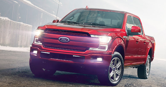 Ford redesigns its best-selling F-150 pickup for 2018