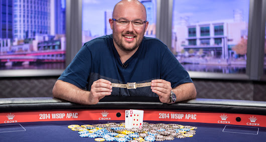 Scott Davies Wins 2014 World Series of Poker Asia Pacific Main Event - Poker News