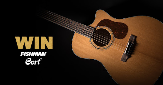 Win a Cort Gold A6 acoustic guitar!