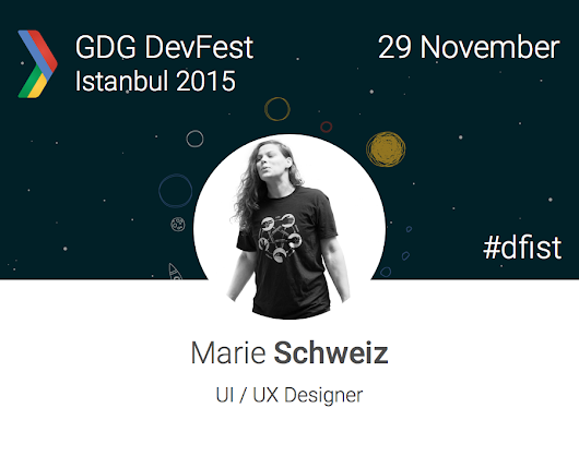 "GDG İstanbul on Twitter: ""Glad to announce our first women speaker! @ma_rylou will be at DevFest Istanbul 2015! #dfist  """