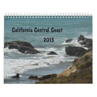California Central Coast Calendar 2013