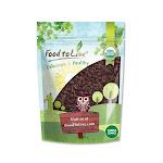 Organic Sultana Raisins, 2.5 Pounds - by Food to Live
