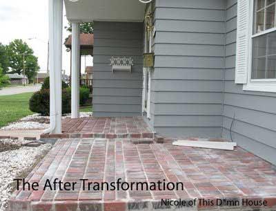 Brick Floor | Brick Paver Walkway | Brick Floor Sealer