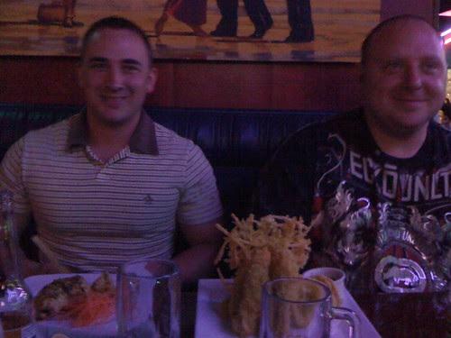 My cousin Greg & his mate Stu,