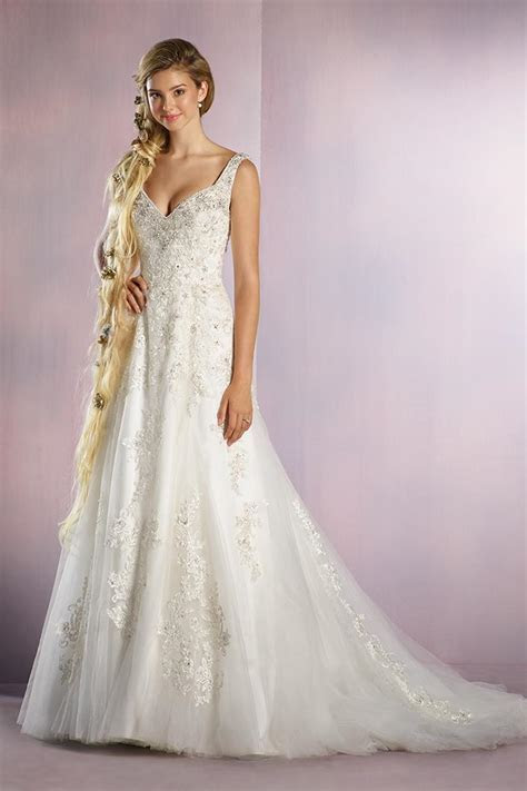 Rapunzel Wedding Dress from Alfred Angelo Disney Fairy