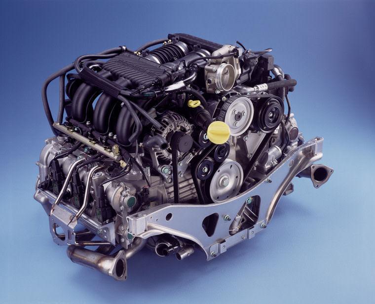 2003 Porsche 911 996 Carrera 36l Flat 6 Engine Picture