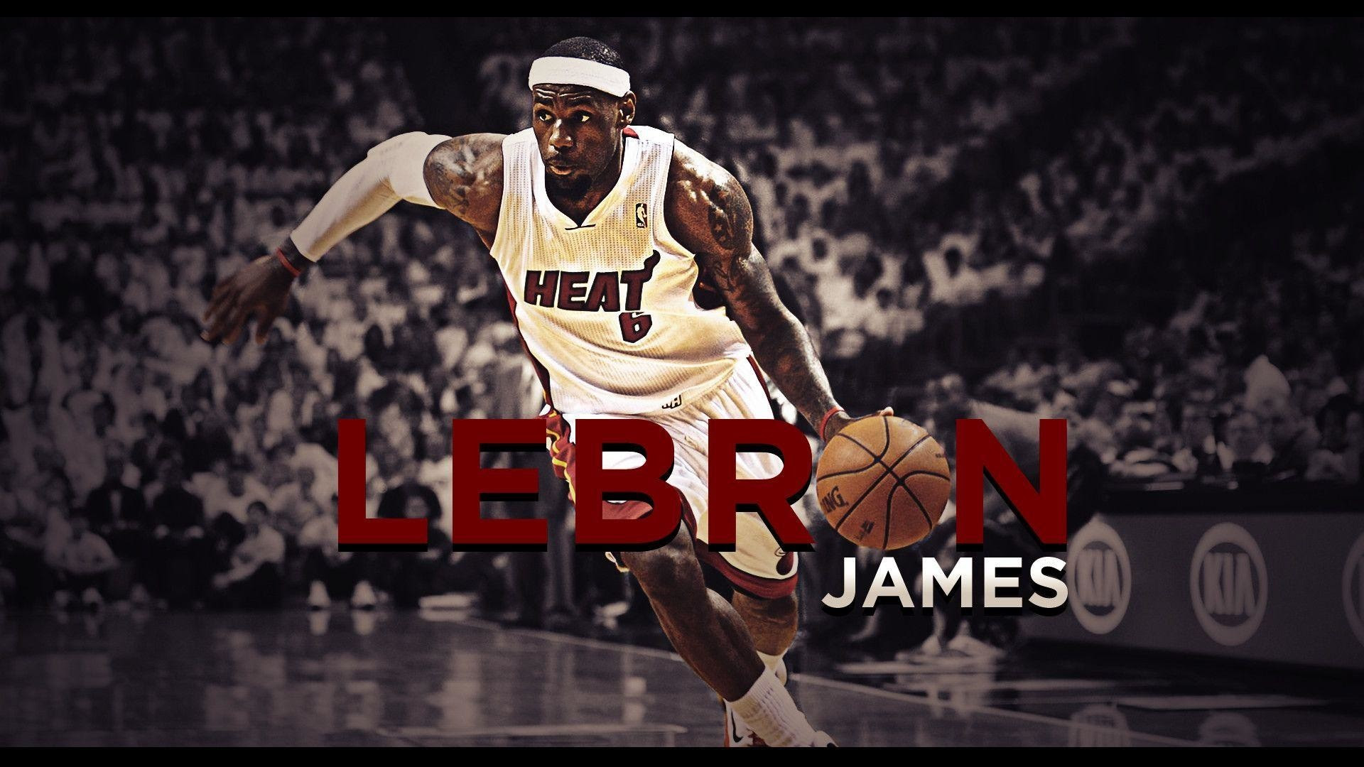 Lebron James Miami Heat Wallpaper 2018 68 Images