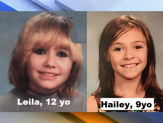 Phoenix police found two young girls who went missing after leaving a sleepover