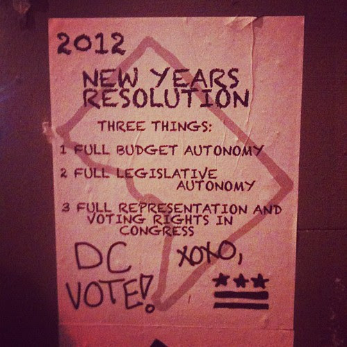 Support DC's right to vote!