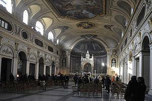 Nederlands: Santa Cecilia in Trastevere, Rome