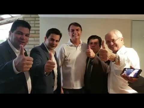 Parlamentares mato-grossenses gravam vídeo de apoio a Jair Bolsonaro