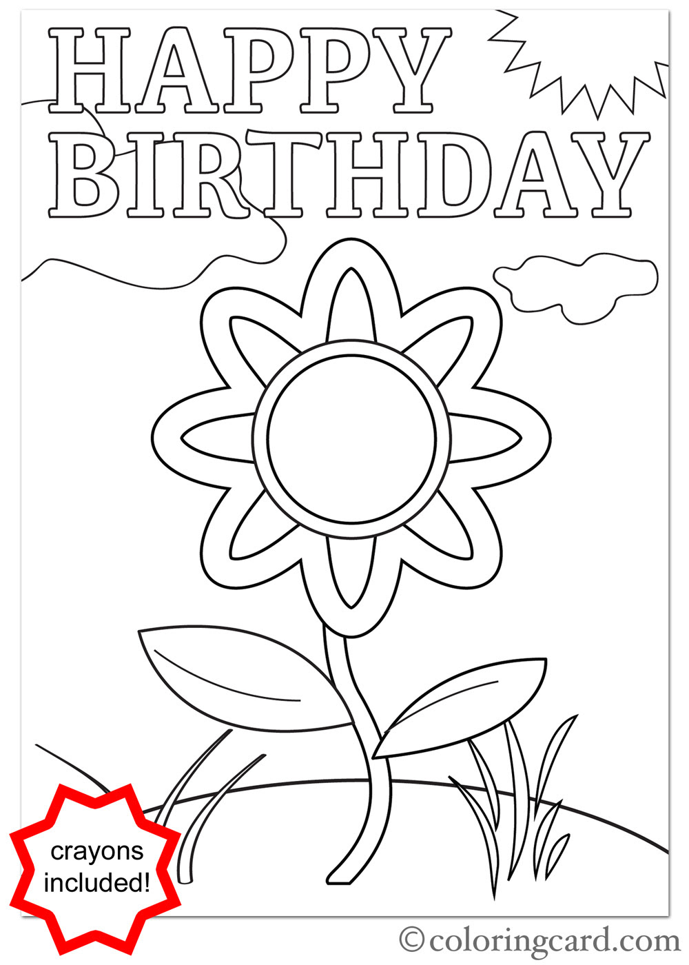 Happy Birthday Drawing Cards at GetDrawings | Free download