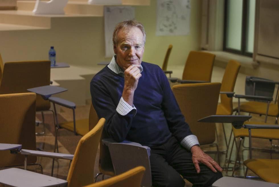 Peter Senge en la Universidad Camilo José Cela.