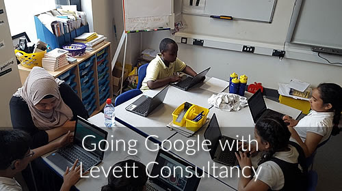 Going Google Open Event - Levett Consultancy