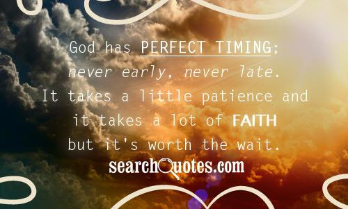 Gods Perfect Timing Quotes Quotations Sayings 2019