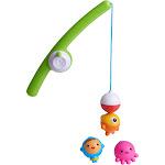 Munchkin 4-Piece Fishin' Bath Toy Set