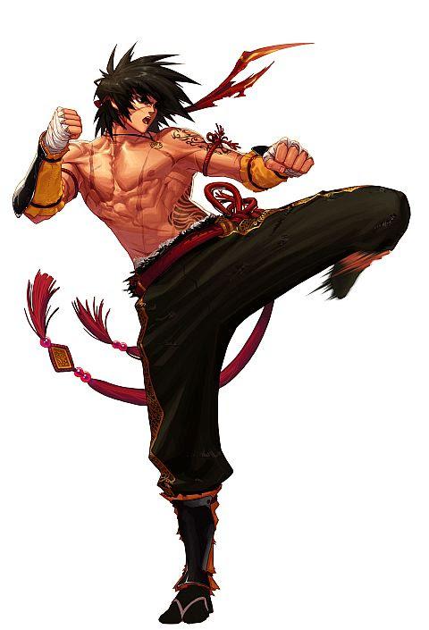 格闘家武闘家 近接職編ゲームに登場するファンタジー職業の参考