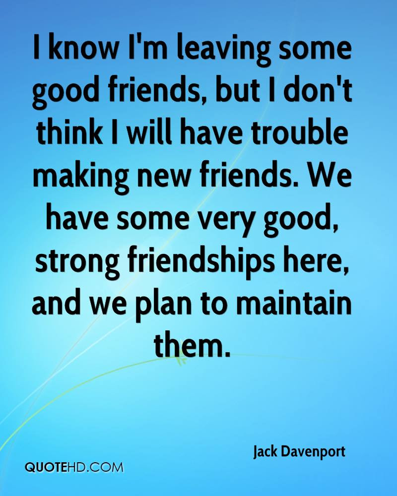 Jack Davenport Friendship Quotes Quotehd