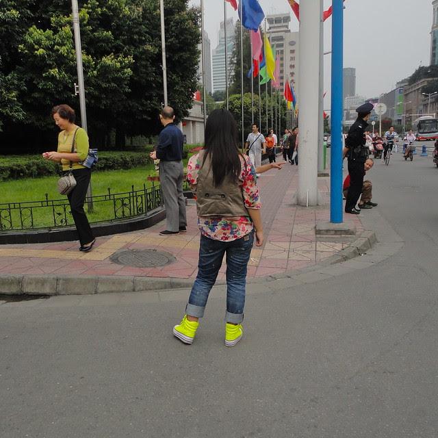 Tianfu Square, Chengdu (Chartreuse)