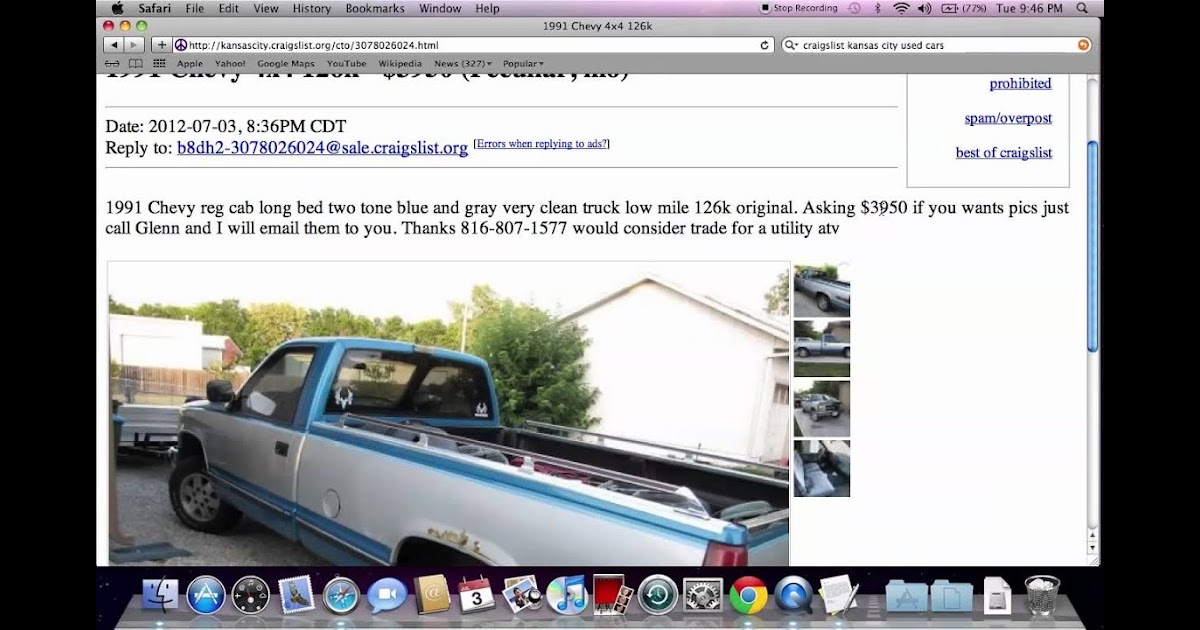 Craigslist Kcmo Cars And Trucks By Owner Classifieds ...