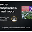 """Memory Management in Xamarin Apps"" Series –"