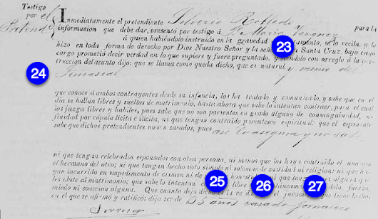 Finding the Mexican Premarital Investigation Record for 2nd Great Grandparents Silverio Robledo and Maria Jesus Sanchez