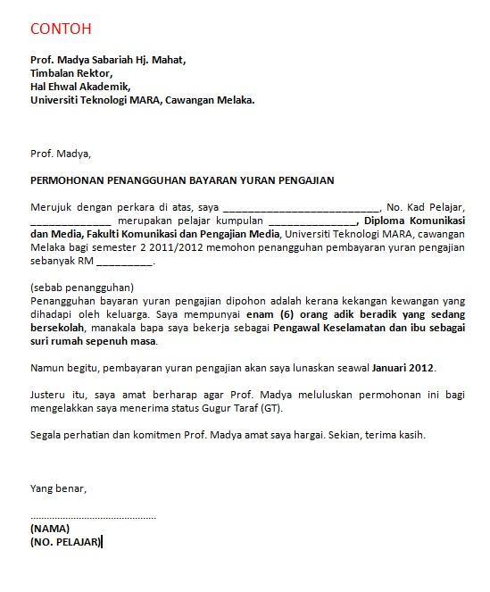 contoh cover letter untuk jawatan jururawat