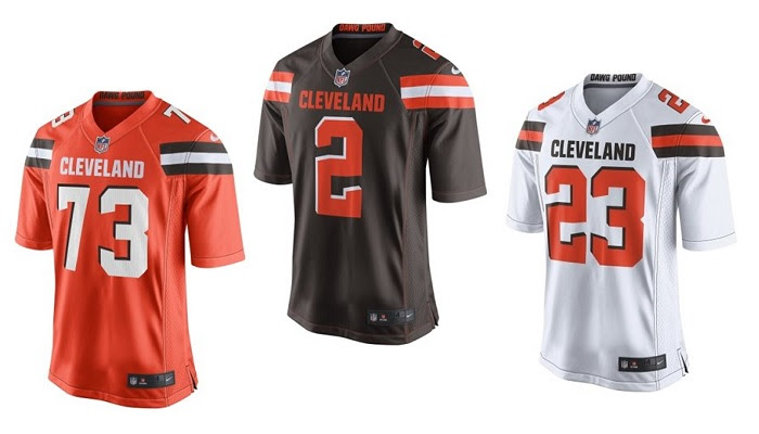 New Cleveland Browns Jerseys are at NFL Shop