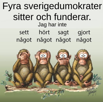 Fyra Sverigedumokrater