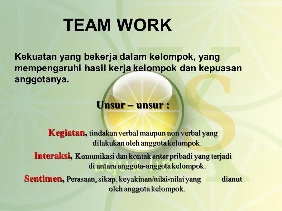 Kata Mutiara Untuk Team Work