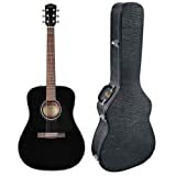 Fender CD-60 Dreadnought Acoustic Guitar - Black