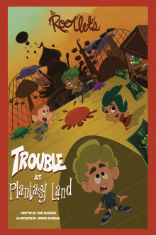Trouble at Plantasy Land Cover (2)