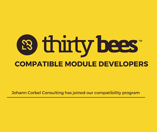 thirty bees module compatibility: Johann Corbel Consulting