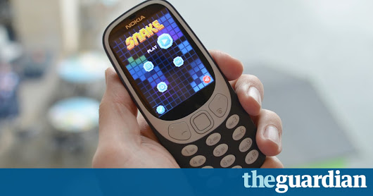 Nokia 3310 review: blast from the past, sore thumbs and all | Technology | The Guardian