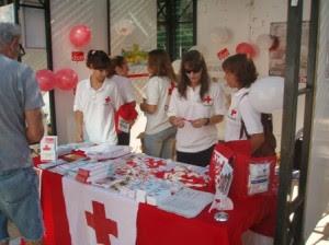 No podía faltar la juventud de Cruz Roja