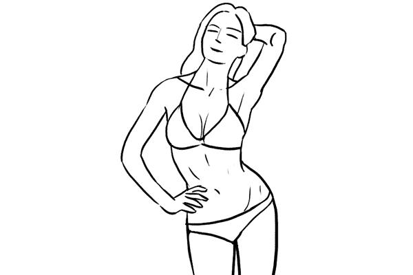 Позирование: позы для женского портрета 1-20