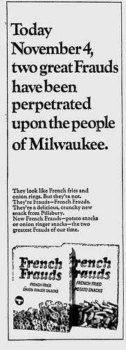 French Frauds ad - Nov4 1968