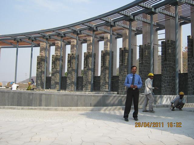 Main Entrains Gate of Sangria Towers at Megapolis Hinjewadi Phase 3, Pune