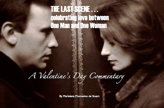THE LAST SCENE: Celebrating love between one man and one woman
