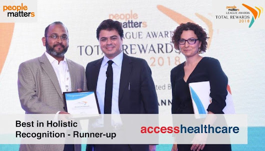 Access Healthcare Services named as the runner-up in the Best in Holistic Recognition