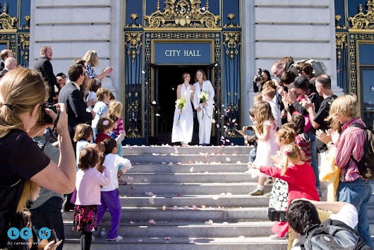 How to Get Married at City Hall - from a top San Francisco Wedding and Engagement Photographer