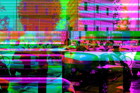 Fuji Glitched & Remixed