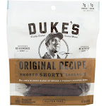 Dukes: Original Shorty Smoked Sausages, 5 Oz